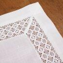 Tischläufer Häkelborte 140 x 40 cm