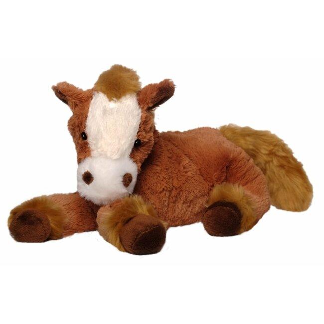 Pferd Harry Kuscheltier braun liegend 30 cm