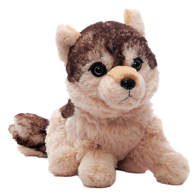 Wolf Lupus Kuscheltier sitzend 26 cm