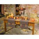 Tischläufer Herbstlaub, braun, ca. 40 x 150 cm