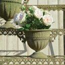 Aged Metal grün Vase rund S - Pflanzkübel, ca....