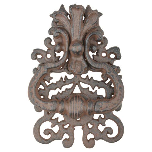 Türklopfer aus Gusseisen - Klassik, viktorianisches Motiv