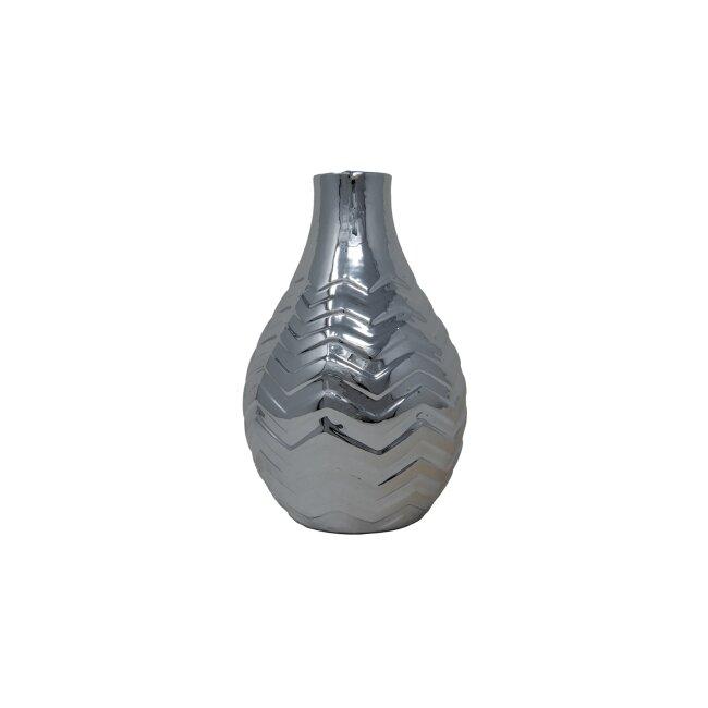 Vase silber 20 cm