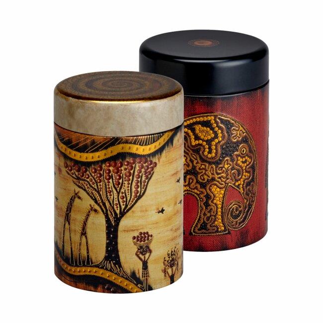 Teedosen Africa 125 g im 2er Set