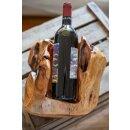 Weinständer aus Zedernholz ca 24 x 24 x18 CM Handgefertigt