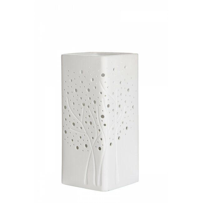"Prickel-Lampe ""Baumgruppe"", ca. 27 cm"