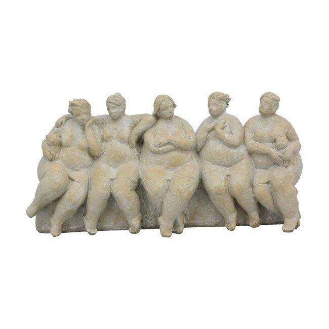 Frauengruppe, Frau Hilda, Polyresin