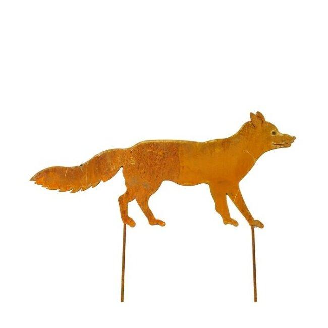 Fuchs in Rostoptik, ca. 65 x 30 cm