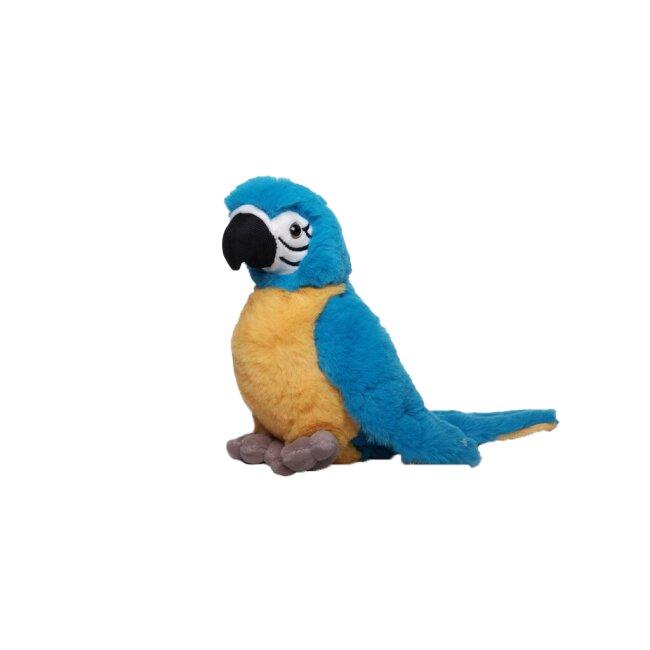Papagei blau, ca. 20 cm