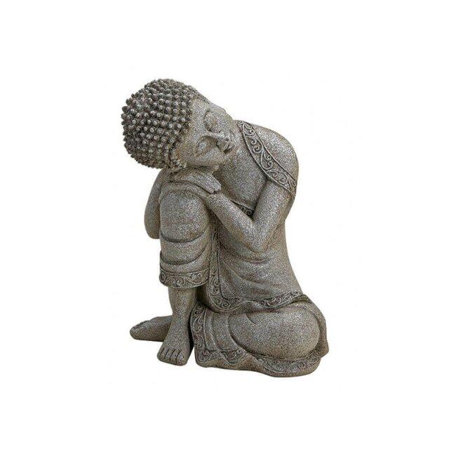 Buddha sitzend, ca. 14 x 20 cm