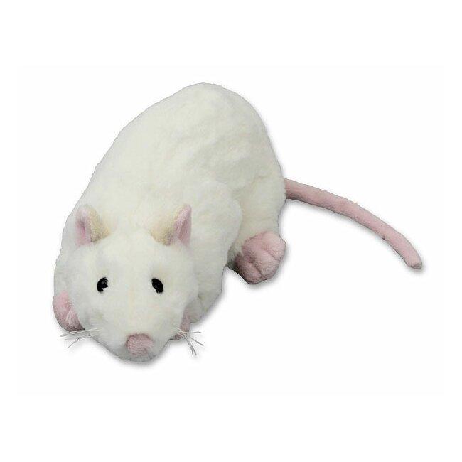 Stofftier Plüschtier Ratte, ca. 20 cm