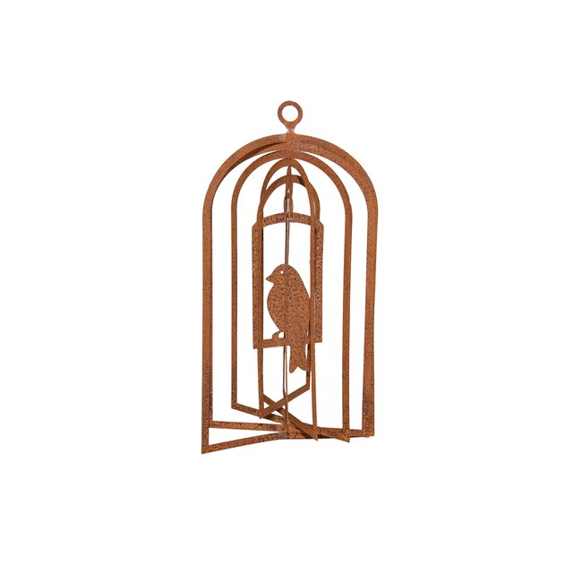Windspiel Vogel, ca. 22 x 12 cm