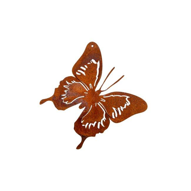 Schmetterling zum Hängen, ca. 12 x 12 cm