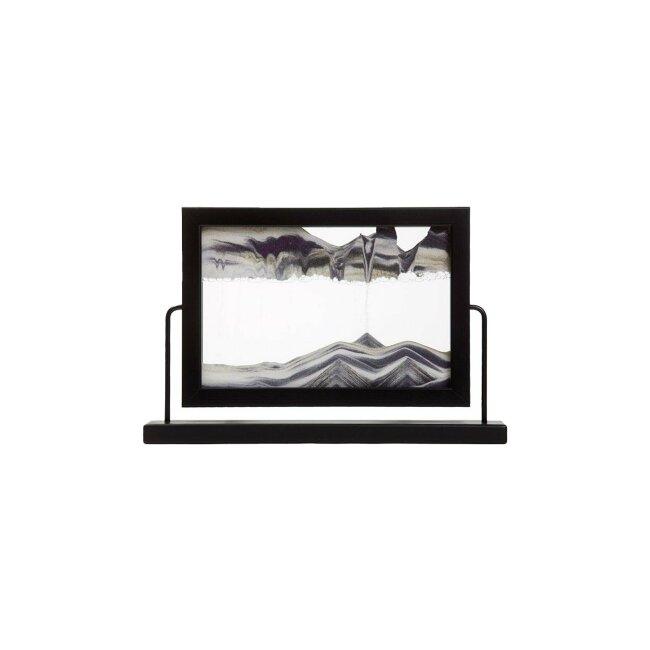 Sandbild - Window Black, ca. 33 x 21,5 x 6 cm