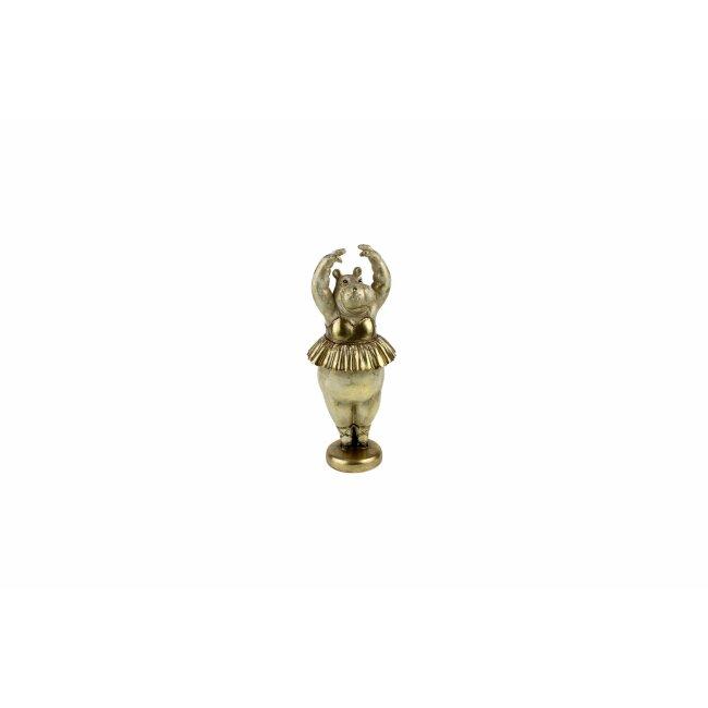 Figur Hippo-Ballerina, ca. 46,5 cm