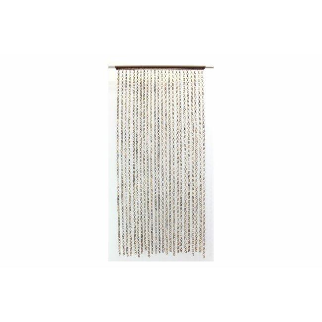 "Türvorhang ""Ring in Ring"", ca. 185 x 90 cm"