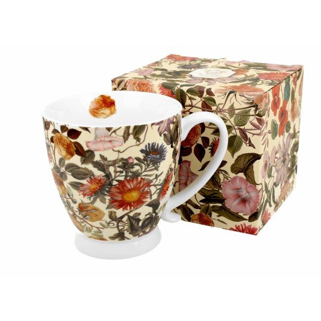 """Tasse mit Jumbo-Fuß """"Floral Dream"""", ca. 480 ml"""