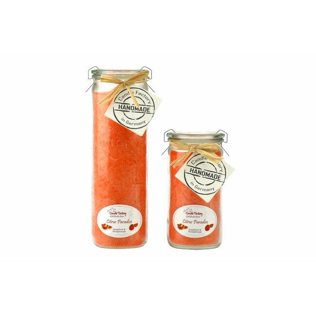"""Candle Factory Duftkerze """"Citrus Paradise""""Jumbo, mandarin"""