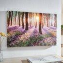 "LED-Bild ""Wald"", ca. 60 x 40 cm"