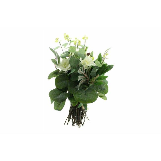 """Blumenstrauß """"Weiße Blüten"""", ca. 44 cm"""