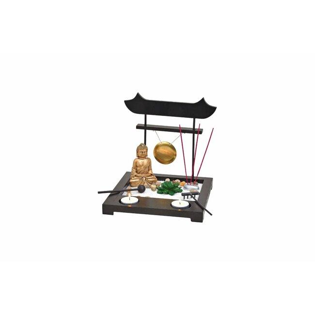Buddhagarten Zen Set, ca. 22 x 22 x 22 cm