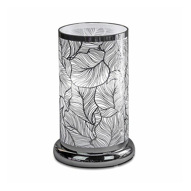 Lampe Touch Blätterdesign, ca. 15 x 24 cm