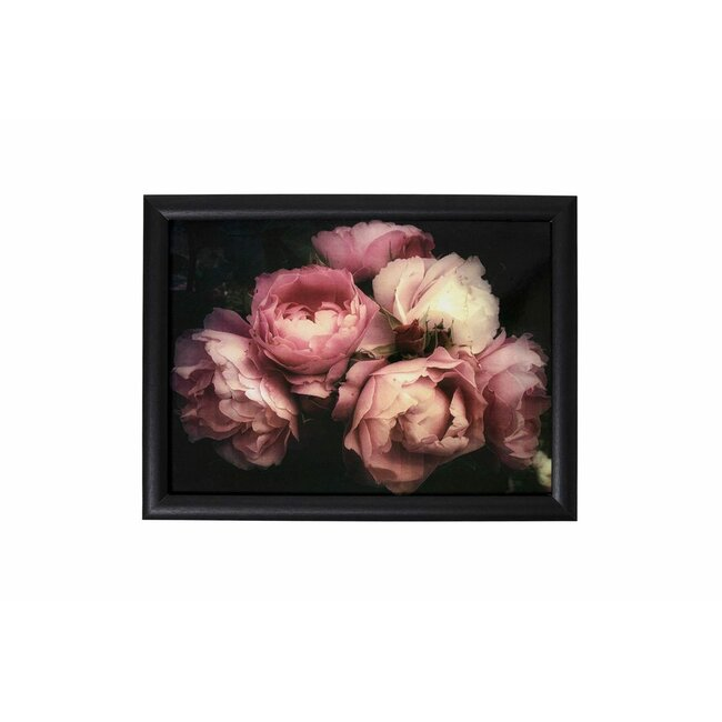 Knietablett Vintage rose, ca. 43 x 33 x 7 cm