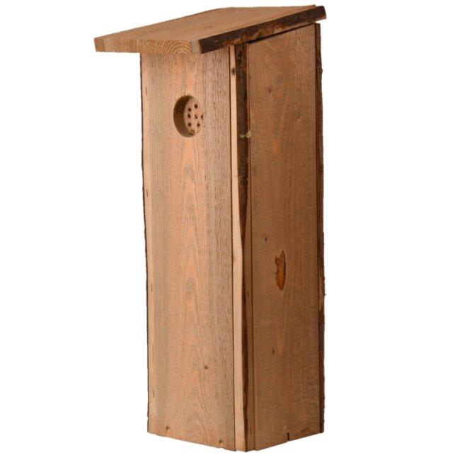 Nistkasten für Buntspecht aus Kieferholz